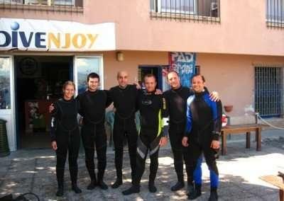 caponoli- esami subacquei 2010