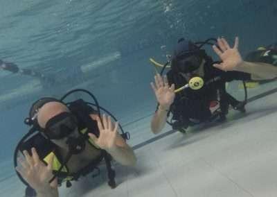 prova sub open water diver