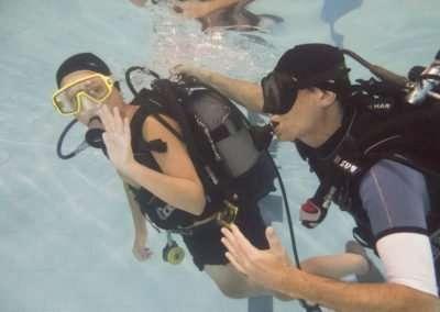 istruttore open water diver sub
