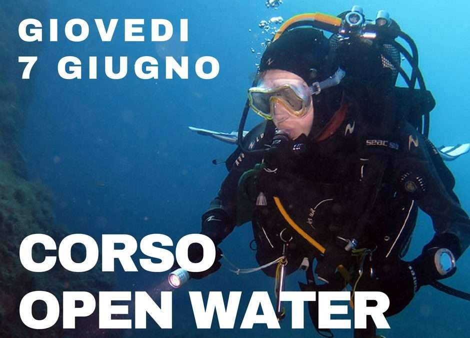 Corso Sub Open Water Diver – 7 Giugno